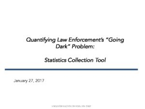20170201-StatisticalCollectionTool PowerPoint -NDCAC - Marybeth